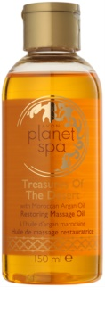 Avon Planet Spa Treasures Of The Desert huile de massage rénovatrice à l'huile d'argan marocaine