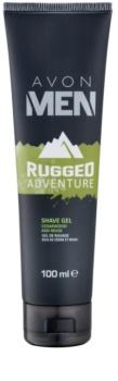 Avon Men Rugged Adventure Rasiergel für Herren 100 ml