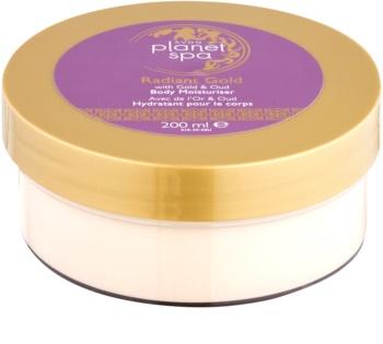 Avon Planet Spa Radiant Gold Körpercreme für hydratisierte und strahlende Haut