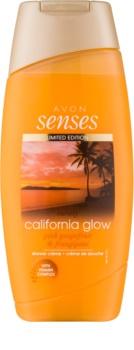 Avon Senses California Glow sprchový krém