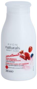 Avon Naturals Body Care Sensational zmiękczające mleczko do ciała z jogurtem