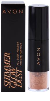 Avon Shimmer Glow Dust пудра-бронзатор з пензликом