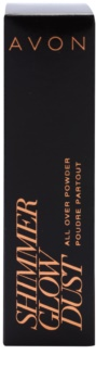 Avon Shimmer Glow Dust bronzosító púderecset