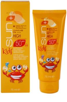Avon Sun Kids παιδική αντηλιακή κρέμα  SPF50