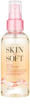 Avon Skin So Soft huile d'argan corps