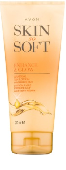 Avon Skin So Soft Self-Tanning Body Lotion