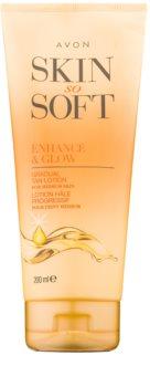 Avon Skin So Soft γαλάκτωμα  μαυρίσματος για το σώμα