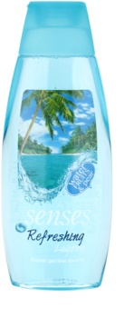 Avon Senses Lagoon Clean and Refreshing gel de ducha refrescante