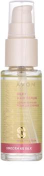 Avon Advance Techniques Smooth As Silk sérum pre hodvábne hebké vlasy