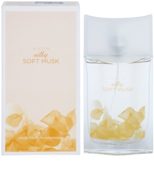 Avon Silky Soft Musk Eau de Toilette for Women 50 ml
