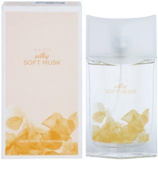 Avon Silky Soft Musk eau de toilette per donna 50 ml