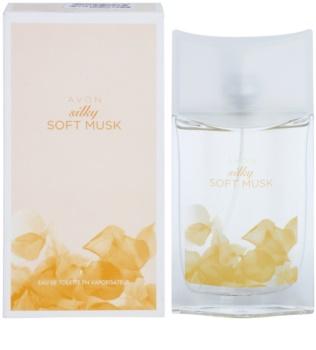 Avon Silky Soft Musk toaletní voda pro ženy 50 ml