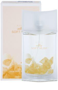 Avon Silky Soft Musk Eau de Toilette voor Vrouwen  50 ml