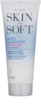 Avon Skin So Soft Smooth depilačný krém