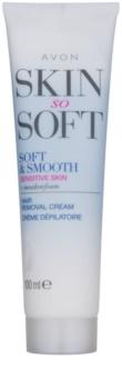 Avon Skin So Soft Smooth Ontharingscrème voor het Lichaam  voor Gevoelige Huid