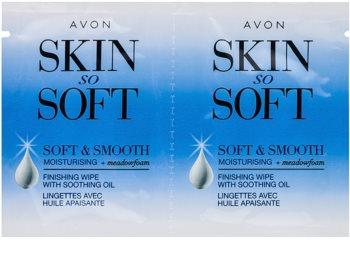 Avon Skin So Soft Smooth Enthaarungswachsstreifen für das Gesicht