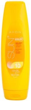 Avon Sun lait solaire hydratant SPF 10