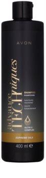 Avon Advance Techniques Supreme Oils champô nutritivo intensivo com luxuosos óleos para todos os tipos de cabelos