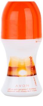 Avon Summer White Sunset Deo Roller voor Vrouwen  50 ml
