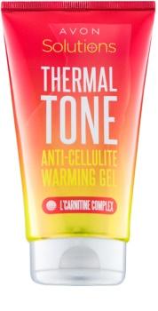Avon Solutions Thermal Tone gel anticelulitic cu efect de încălzire