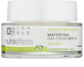 Avon True NutraEffects odmładzający krem na dzień SPF 15
