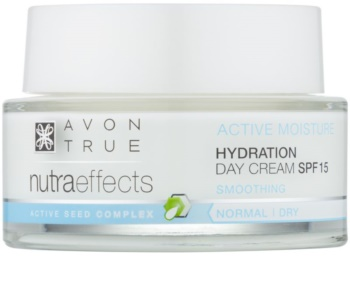 Avon True NutraEffects hydratisierende Tagescreme LSF 15