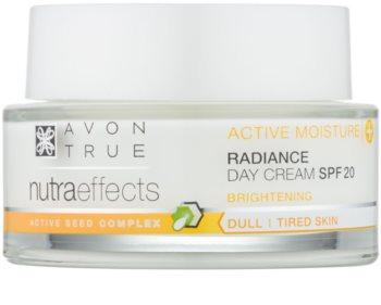 Avon True NutraEffects posvetlitvena dnevna krema SPF 20