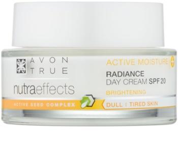 Avon True NutraEffects освітлюючий денний крем SPF 20