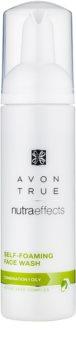 Avon True NutraEffects tisztító hab kombinált és zsíros bőrre
