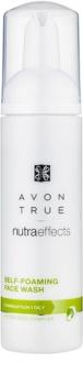 Avon True NutraEffects очищаюча пінка для комбінованої та жирної шкіри