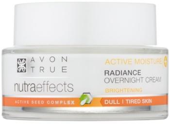 Avon True NutraEffects posvetlitvena nočna krema