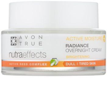 Avon True NutraEffects posvjetljujuća noćna krema
