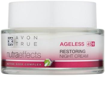 Avon True NutraEffects noční krém s omlazujícím účinkem