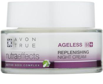 Avon True NutraEffects Verjongende Nachtcrème  voor Regeneratie van de Huid
