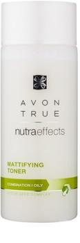 Avon True NutraEffects mattító víz arcra kombinált és zsíros bőrre