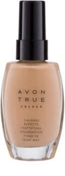 Avon True Colour fond de teint apaisant effet mat