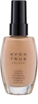 Avon True Colour заспокоюючий тональний крем з матуючим ефектом