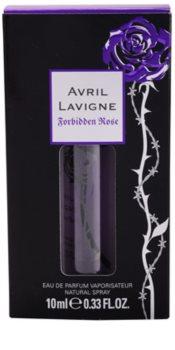 Avril Lavigne Forbidden Rose eau de parfum pentru femei 10 ml