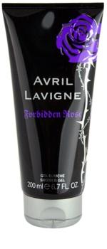Avril Lavigne Forbidden Rose gel de dus pentru femei 200 ml