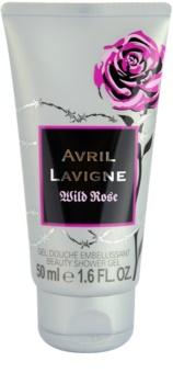 Avril Lavigne Wild Rose sprchový gél tester pre ženy 50 ml