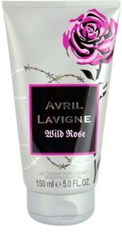 Avril Lavigne Wild Rose gel douche pour femme 150 ml