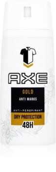 Axe Gold antitranspirante en spray 48h