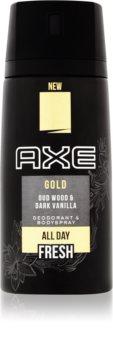 Axe Gold deospray pentru barbati