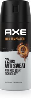 Axe Dark Temptation Antitraspiranti per uomo 150 ml antitraspirante spray