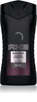 Axe Black Night τζελ για ντους για άντρες 250 μλ