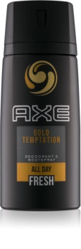 Axe Gold Temptation Deodorant and Bodyspray