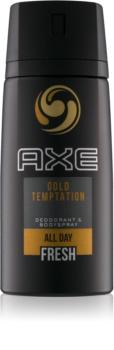 Axe Gold Temptation desodorizante corporal em spray