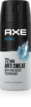 Axe Ice Chill spray anti-transpirant