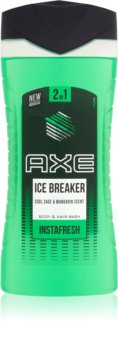 Axe Ice Breaker Shower Gel And Shampoo 2 In 1
