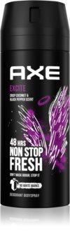 Axe Excite deodorant spray para homens 150 ml